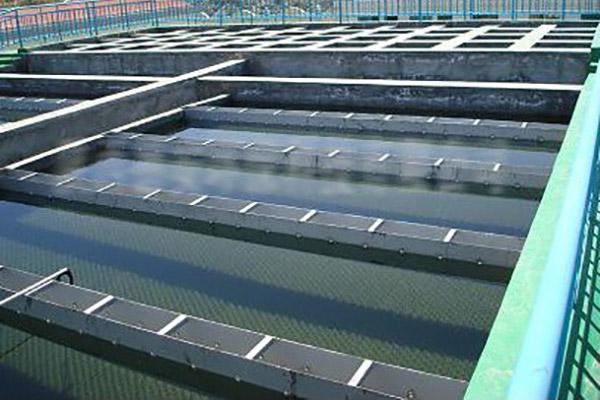 滨海水厂沉淀池